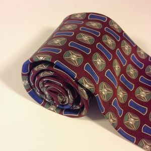 "FN Handsome! 100% Silk Hand-made Men's Tie 4""x56"""